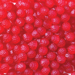 Allens Raspberries Bulk lollies are available in 1.3kg bags at Moo-Lolly-Bar