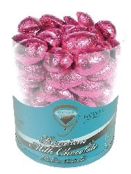 Buy Half Easter Eggs Pink online in bulk at Moo-Lolly-Bar with fast shipping.