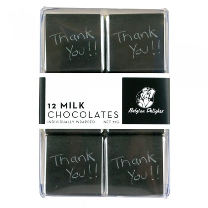 Buy Napolitain Boxes Thank You Chalk 12pc online in Australia at Moo-Lolly-Bar