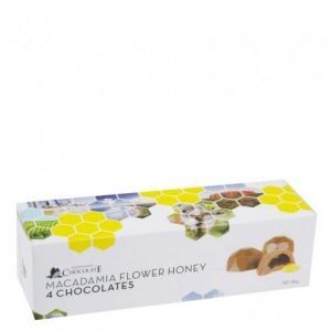 You can buy Macadamia Honey Flower Chocolates at Moo-Lolly-Bar's online confectionery store.
