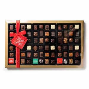 Buy Belgian Chocolate Christmas Assortment Box 1kg online at Moo-Lolly-Bar